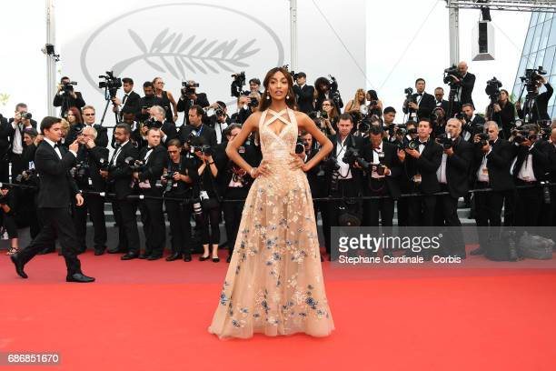 Jourdan Dunn attends The Killing Of A Sacred Deer premiere during the 70th annual Cannes Film Festival at Palais des Festivals on May 22 2017 in...