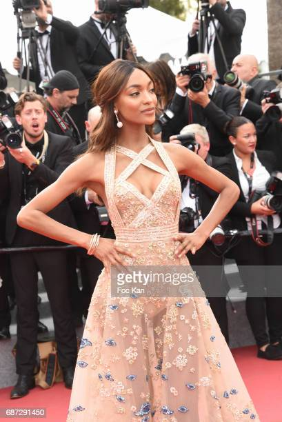 Jourdan Dunn attends 'The Killing Of A Sacred Deer' premiere during the 70th annual Cannes Film Festival at Palais des Festivals on May 22 2017 in...