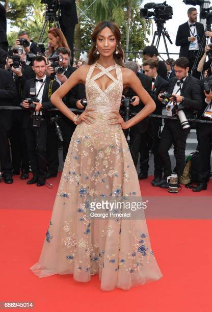 Jourdan Dunn attends 'The Killing Of A Sacred Deer' screening during the 70th annual Cannes Film Festival at Palais des Festivals on May 22 2017 in...