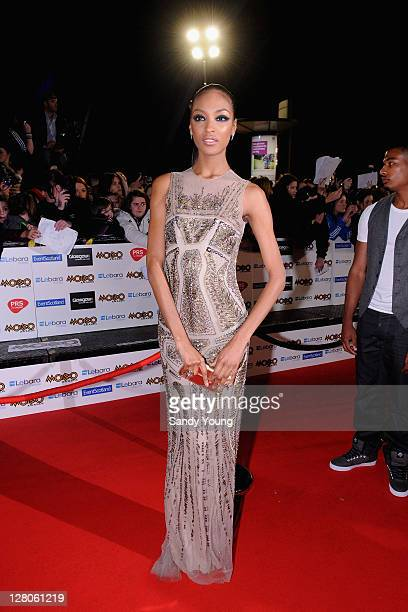 Jourdan Dunn attends the MOBO Awards 2011 at the SECC on October 5 2011 in Glasgow Scotland