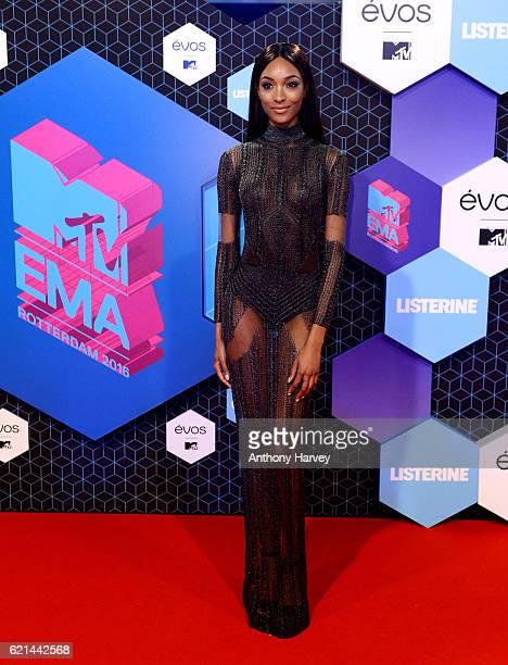 Jourdan Dunn attends the MTV Europe Music Awards 2016 on November 6 2016 in Rotterdam Netherlands