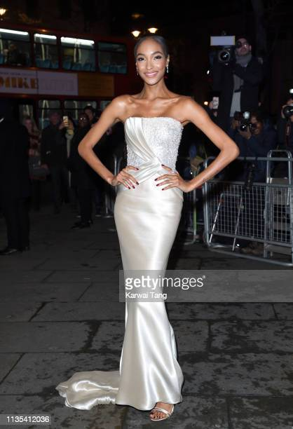 Jourdan Dunn attends the Portrait Gala 2019 at National Portrait Gallery on March 12, 2019 in London, England.