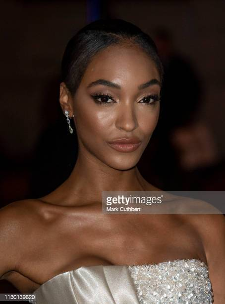Jourdan Dunn attends the Portrait Gala 2019 at the National Portrait Gallery on March 12, 2019 in London, England.