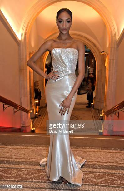 Jourdan Dunn attends The Portrait Gala 2019 hosted by Dr Nicholas Cullinan and Edward Enninful to raise funds for the National Portrait Gallery's...