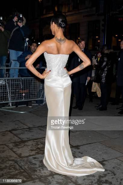 Jourdan Dunn attends the Portrait Gala at National Portrait Gallery on March 12 2019 in London England