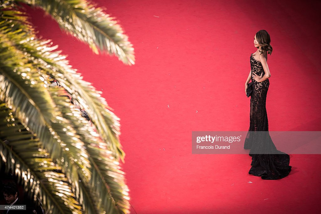 Jourdan Dunn attends the Premiere of 'The Little Prince' during the 68th annual Cannes Film Festival on May 22, 2015 in Cannes, France.