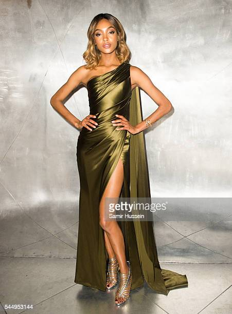 Jourdan Dunn attends the Ralph Russo And Chopard Host Dinner as part of Paris Fashion Week on July 4 2016 in Paris France