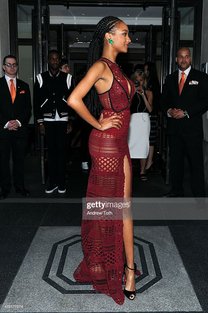 Met Gala 2015 Departures From The Mark Hotel - NYC : News Photo