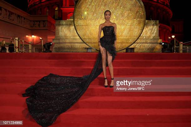 Jourdan Dunn during The Fashion Awards 2018 In Partnership With Swarovski at Royal Albert Hall on December 10 2018 in London England