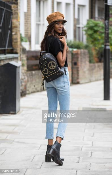 Jourdan Dunn is seen out and about on September 4 2017 in London
