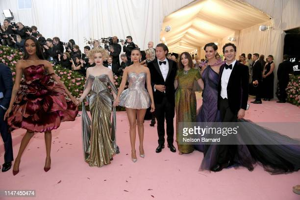Jourdan Dunn Julia Garner Nina Dobrev Vito Schnabel Gia Coppola Katie Holmes and Zac Posen attend The 2019 Met Gala Celebrating Camp Notes on Fashion...