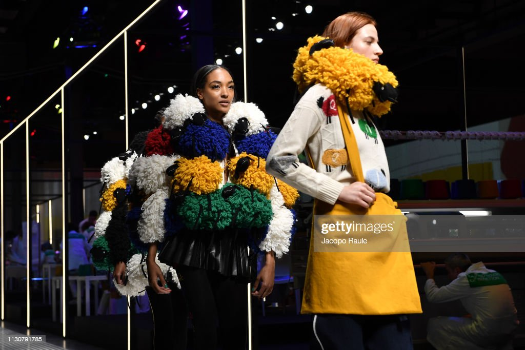 ITA: United Colours Of Benetton - Runway: Milan Fashion Week Autumn/Winter 2019/20