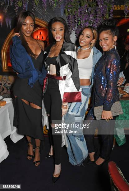 Jourdan Dunn Winnie Harlow Tinashe and Cassie attend the 'Can't Stop Won't Stop A Bad Boy Story' dinner hosted by Sean 'Diddy' Combs Naomi Campbell...