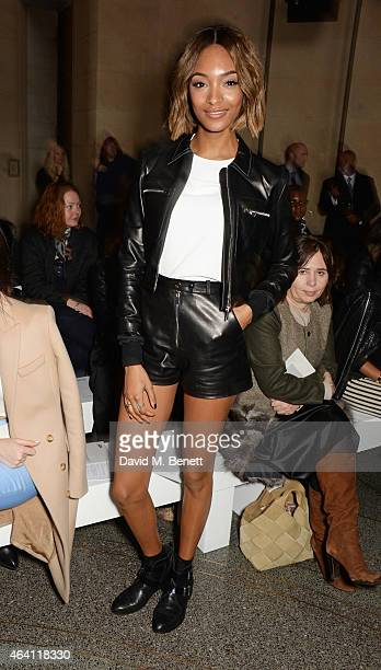 Jourdan Dunnattends the Topshop Unique show during London Fashion Week Fall/Winter 2015/16 at Tate Britain on February 22 2015 in London England