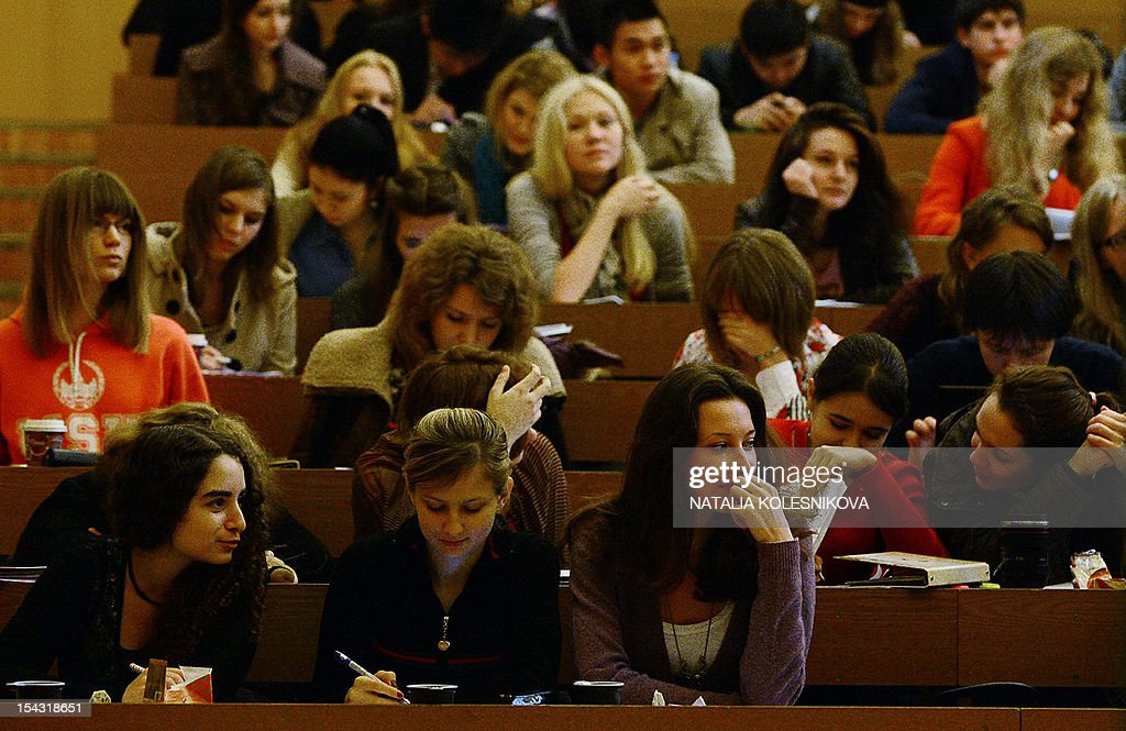RUSSIA-THEME-EDUCATION : News Photo