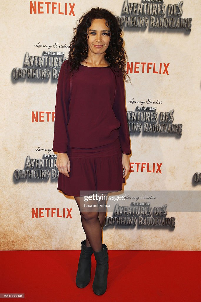 "Netflix TV Serie ""Les Aventures Des Orphelins Baudelaire"" -A Series of Unfortunate Events- Paris Premiere"