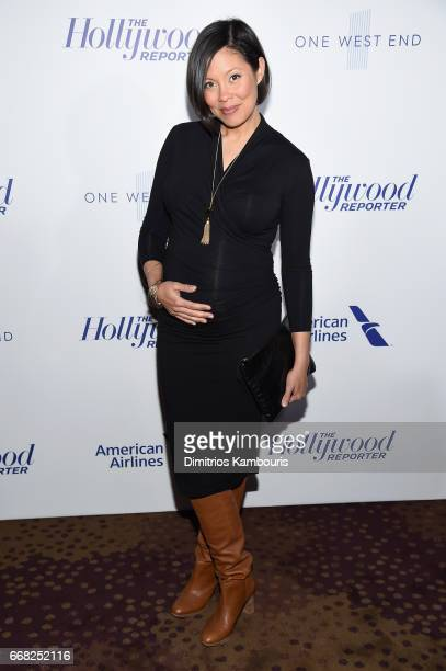 Journalist Alex Wagner attends The Hollywood Reporter 35 Most Powerful People In Media 2017 at The Pool on April 13 2017 in New York City