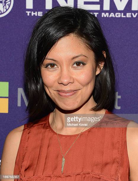 Journalist Alex Wagner attends the Inaugural Youth Ball hosted by OurTimeorg at Donald W Reynolds Center on January 19 2013 in Washington United...