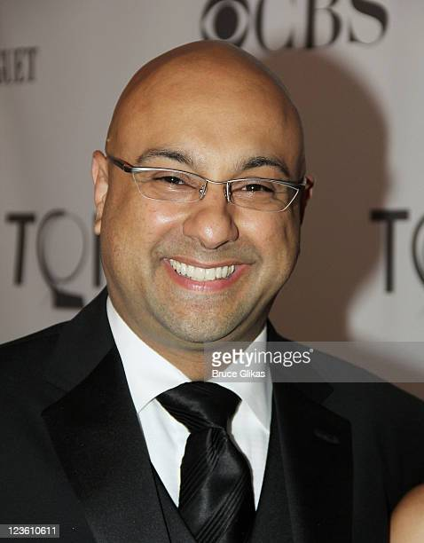 Journalist Ali Velshi attends the 65th Annual Tony Awards at the Beacon Theatre on June 12 2011 in New York City