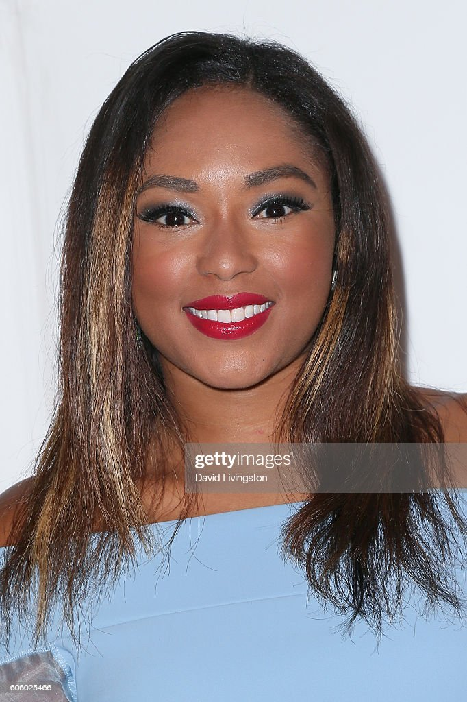 Journalist Alicia Quarles arrives at Audi Celebrates The 68th Emmys at Catch on September 15, 2016 in West Hollywood, California.