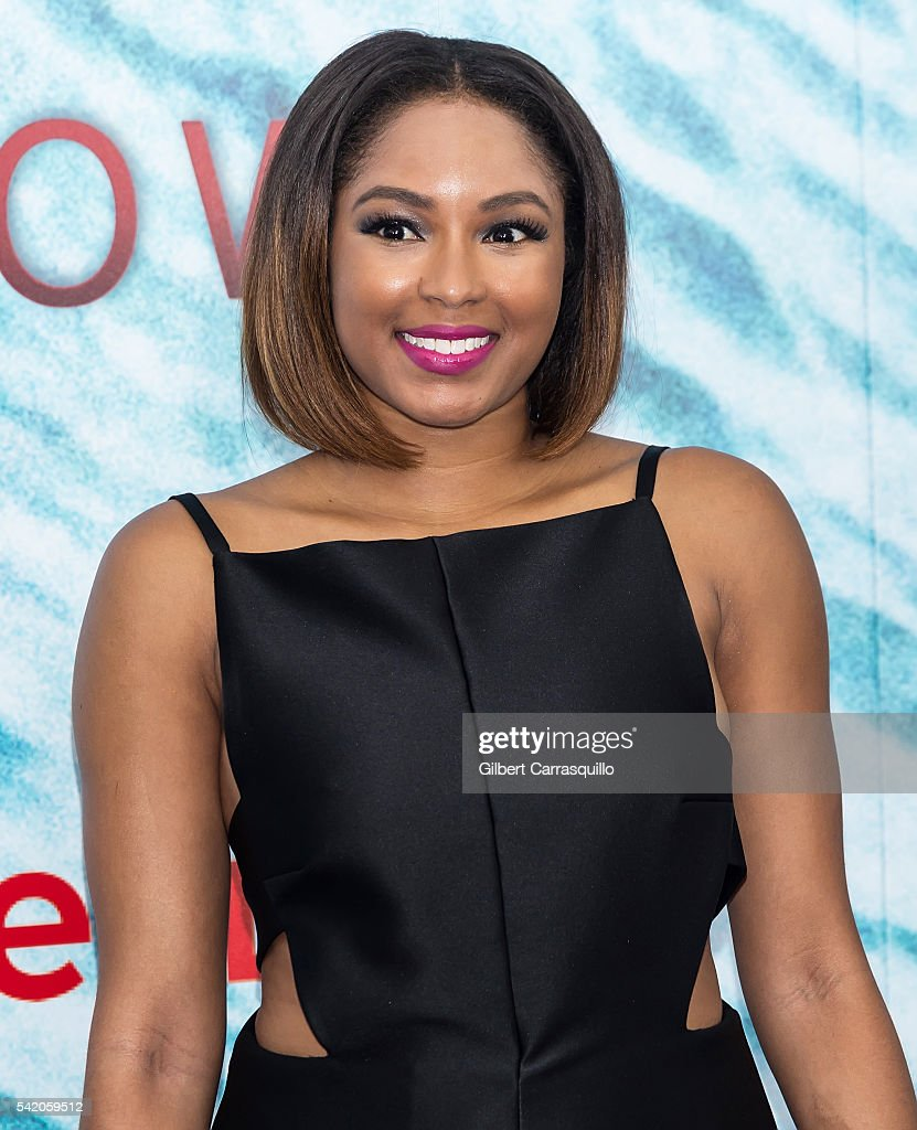 Journalist Alicia Quarles attends 'The Shallows' World Premiere at AMC Loews Lincoln Square on June 21, 2016 in New York City.