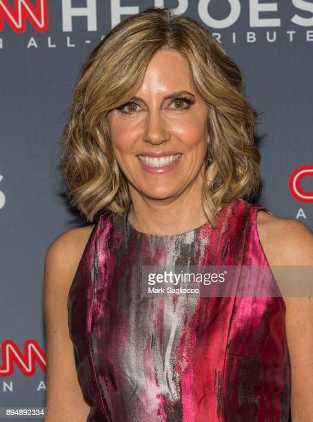 Journalist Alisyn Camerota attends the 11th Annual CNN Heroes An AllStar Tribute at American Museum of Natural History on December 17 2017 in New...