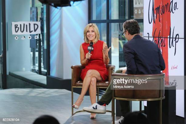 Journalist Alisyn Camerota visits Build to discuss her new book Amanda Wakes Up at Build Studio on July 25 2017 in New York City