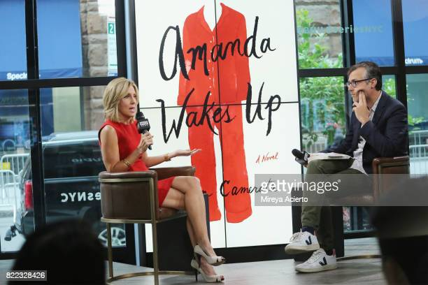 Journalist Alisyn Camerota visits Build to discuss her new book 'Amanda Wakes Up' at Build Studio on July 25 2017 in New York City