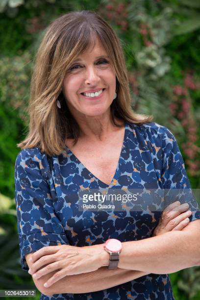Journalist Ana Blanco attends the RTVE News team presentation on September 3 2018 in Madrid Spain