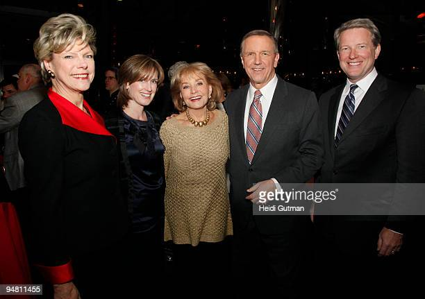 Journalist and analyst Cokie Roberts CoChair of Disney Media Networks and President of DisneyABC Television Group Anne Sweeney TV personality Barbara...