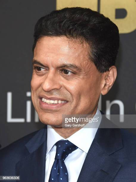 Journalist and author Fareed Zakaria attends the 2018 Lincoln Center American Songbook gala honoring HBO's Richard Plepler at Alice Tully Hall...