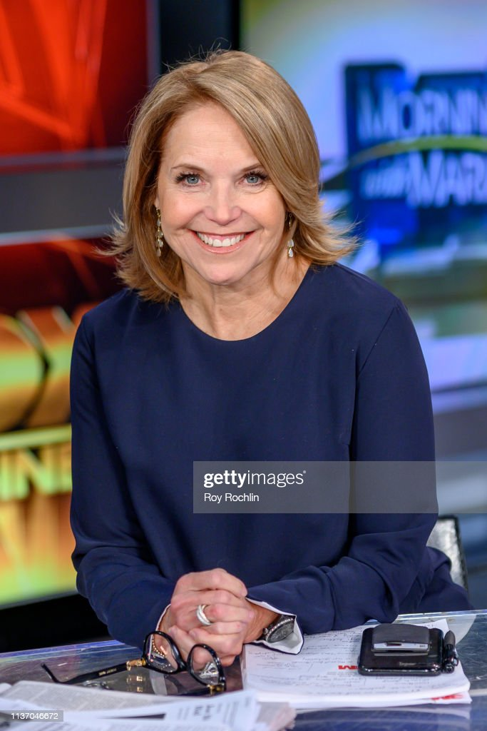 "NY: Katie Couric Visits ""Mornings With Maria"""
