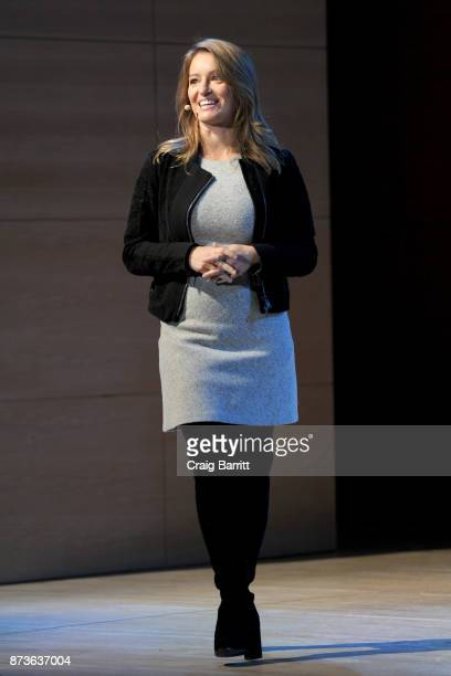Journalist and author Katy Tur speaks onstage during Glamour Celebrates 2017 Women Of The Year Live Summit at Brooklyn Museum on November 13 2017 in...