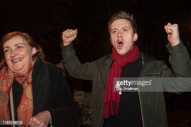 Journalist and author Owen Jones given a speech in support of Labour candidate Emma Dent Coad at a mass canvass of the Kensington and Chelsea...