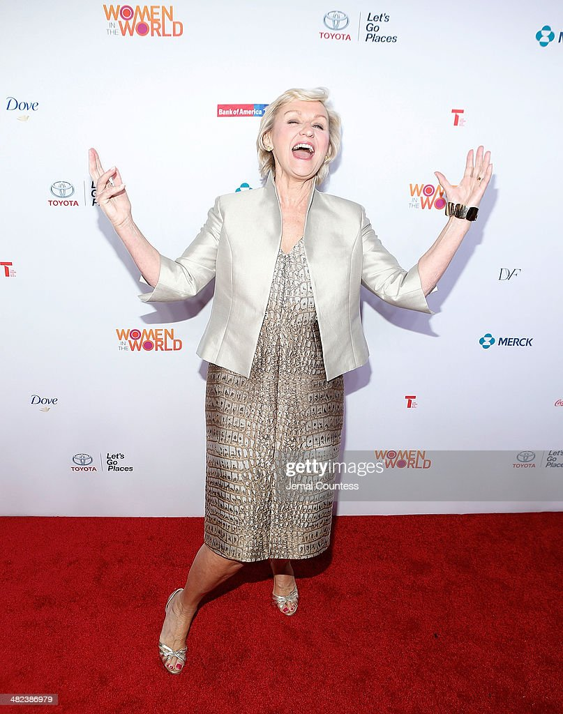 Journalist and author Tina Brown attends the 5th Annual Women In The World Summit at the David Koch Theatre at Lincoln Center on April 3, 2014 in New York City.