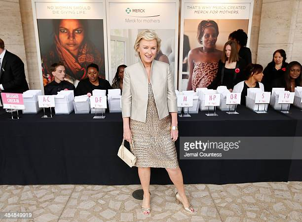 Journalist and author Tina Brown attends the 5th Annual Women In The World Summit at the David Koch Theatre at Lincoln Center on April 3 2014 in New...