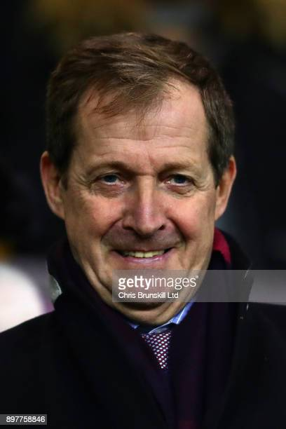 Journalist and Burnley fan Alastair Campbell looks on before the Premier League match between Burnley and Tottenham Hotspur at Turf Moor on December...