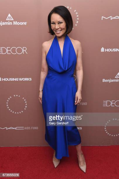 Journalist and editor Alina Cho attends the Housing Works Ground Breaker Awards Dinner on April 26 2017 in New York City