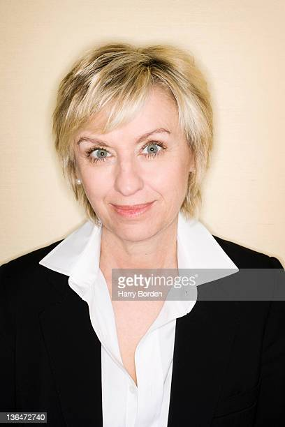 Journalist and editor Tina Brown is photographed for Stern on May 22 2007 in London England