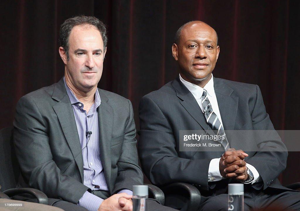 Journalist and ESPN writer Steve Fainaru and senior