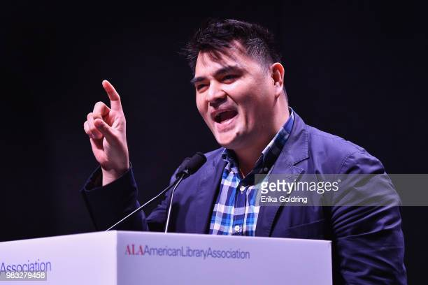 Journalist and filmmaker Jose Antonio Vargas discusses his forthcoming book titled 'Dear America Notes of an Undocumented Citizen' during the 2018...