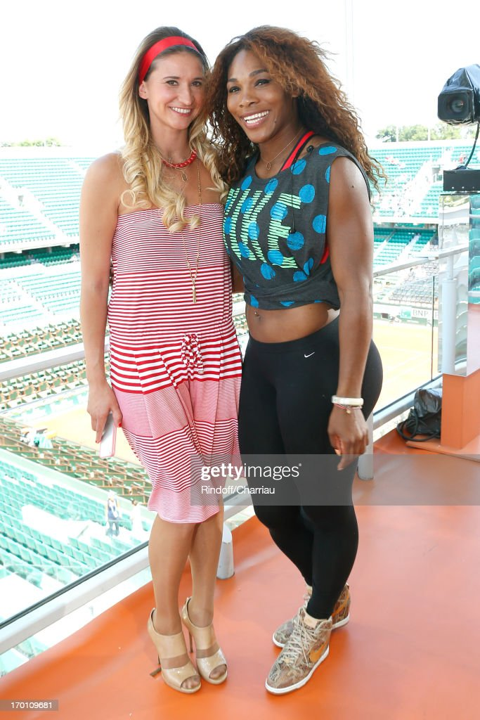 Celebrities At French Open 2013 - Day 13