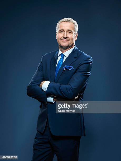 Journalist and newsreader Mark Austin is photographed for the Daily Mail on September 21 2015 in London England