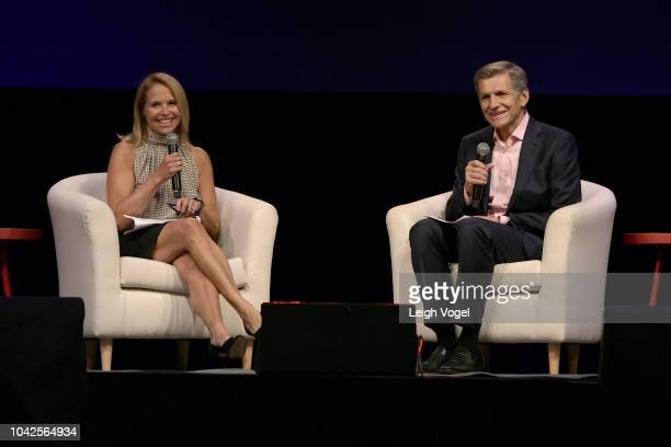 Journalist and #SeeHer advisor Katie Couric and PG Chief Brand Officer Marc Pritchard speak at the firstever #SheIsEqual Summit cohosted by three...