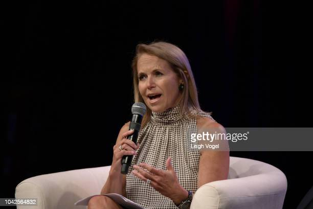 Journalist and #SeeHer advisor Katie Couric speaks at the firstever #SheIsEqual Summit cohosted by three leading organizations PG Global Citizen and...