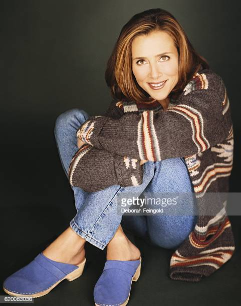 Journalist and talkshow host Meredith Viera in January 1998 in New York City New York