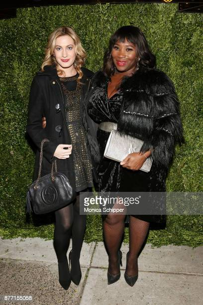Journalist and television reporter Elizabeth Wagmeister and TV personality Bevy Smith attend the 2017 Saks Fifth Avenue Holiday Window Unveiling And...