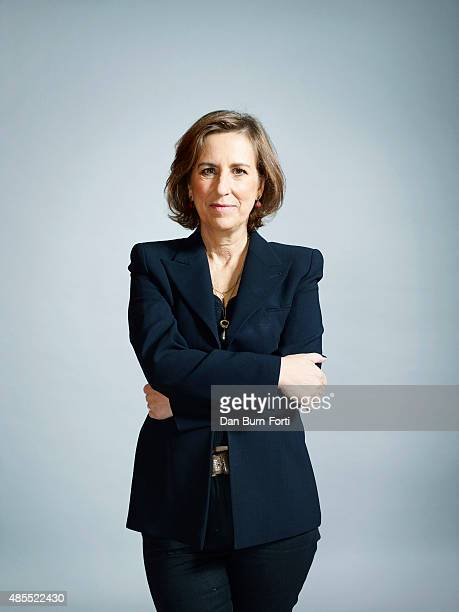 Journalist and tv presenter Kirsty Wark is photographed on September 30, 2014 in London, England.