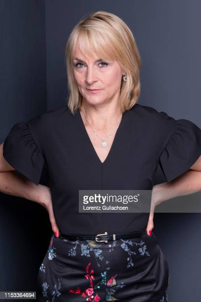 Journalist and tv presenter Louise Minchin is photographed on April 28 2018 in StratforduponAvon England
