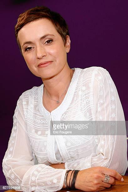 Journalist and TV Presenter Sophie Jovillard Photographed in PARIS
